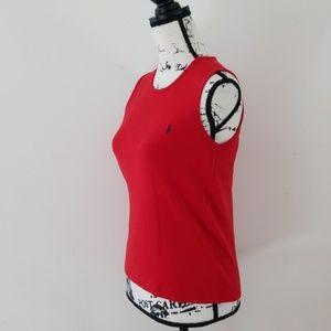 Ralph Lauren Sport Women's Red Tank Top